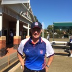 Fred Oldfield in the MCC Bowls sections 2014 shirt.