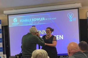 A Draffen Female Bowler of the Year 2019-2020